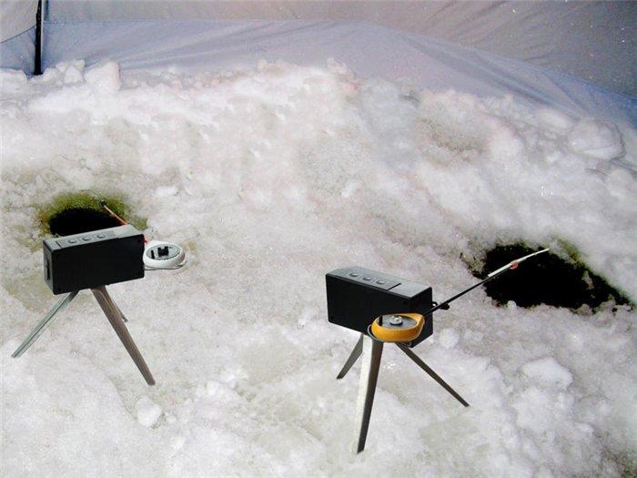 Удочка самотряс для зимней рыбалки