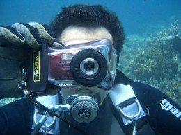 Фотоаппарат для подводной охоты
