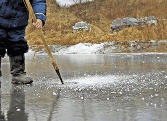 Как проверить прочность лда на рыбалке