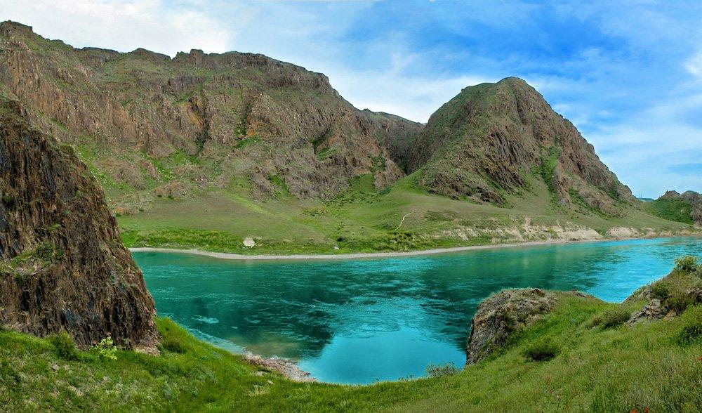 Река Или рыбалка в Казахстане
