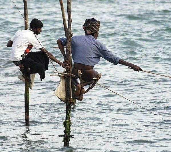 Оригинальные способы ловли рыбы
