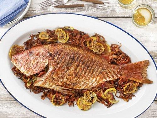Рыба по испански рецепт