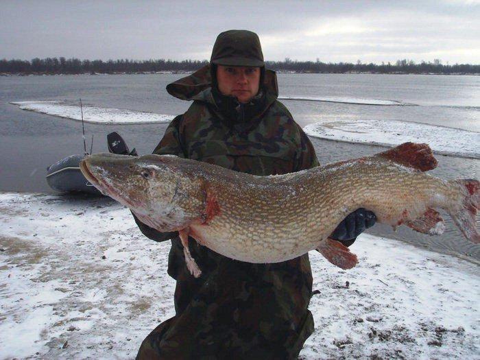 Зимняя рыбалка на щуку в Казахстане