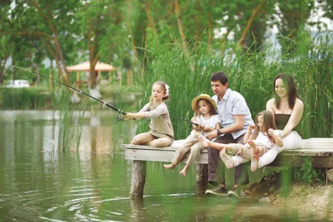Рыбалка для всей семьи