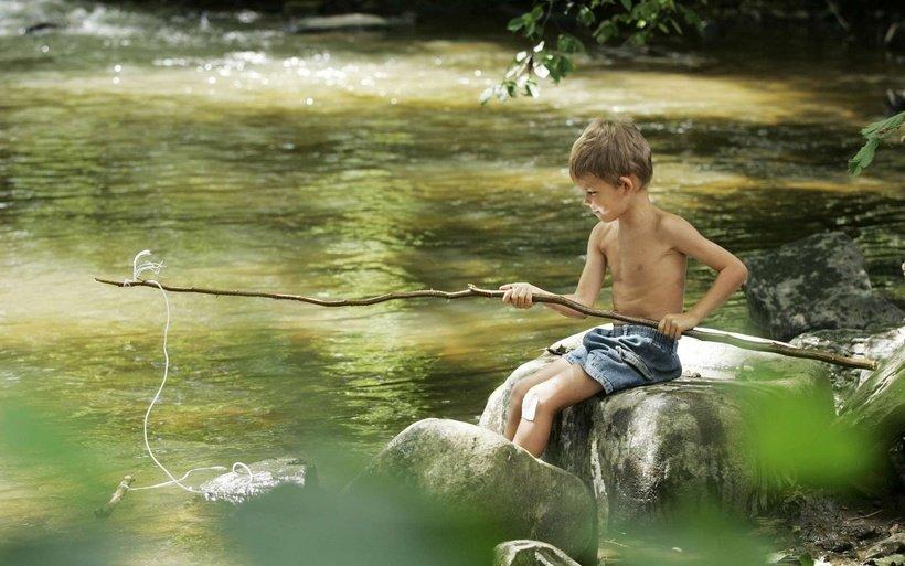 Новичок на рыбалке