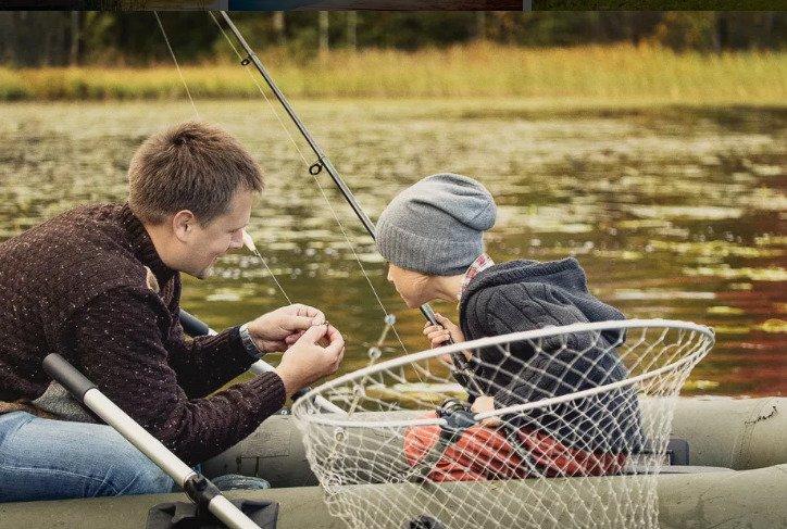 Рыбалка и база отдыха одновременно